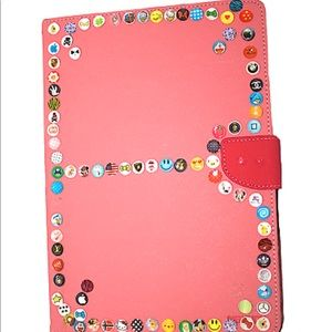 GOOSPERY iPad Air Pink Case with Card Slot Holder